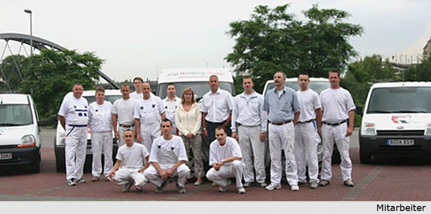 Mitarbeiterteam