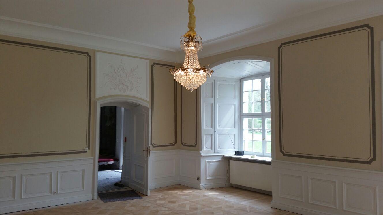 Malerarbeiten Schloss Madlitz